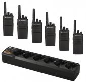 Motorola XT420 Six Pack with 6-Way Charger